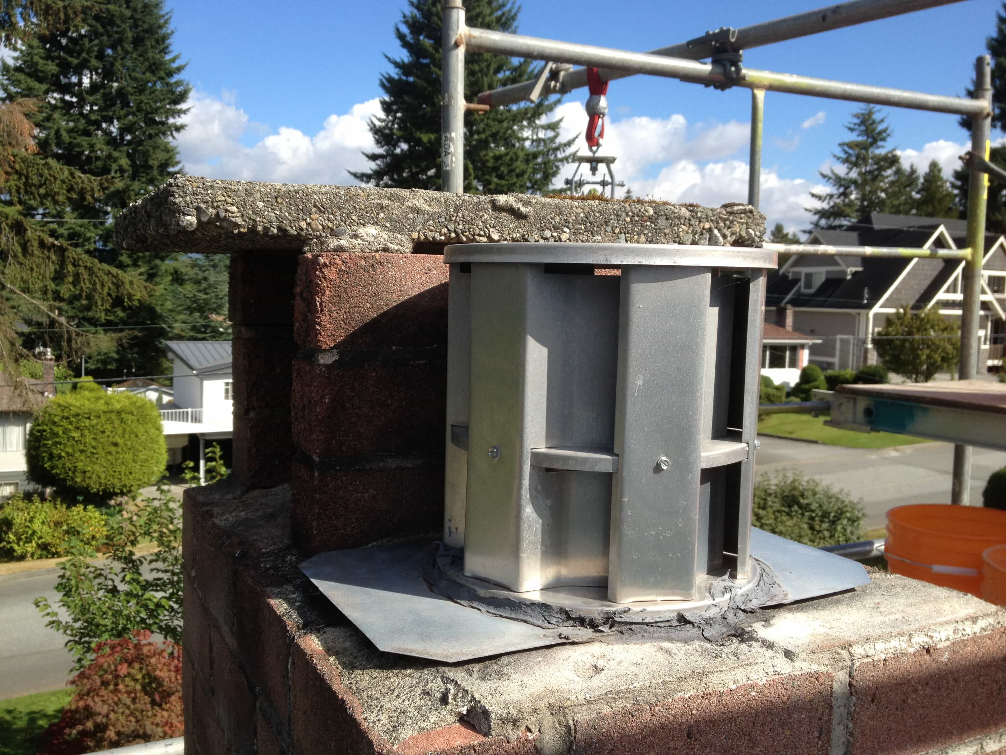 Chimney Cap Repairs Coquitlam