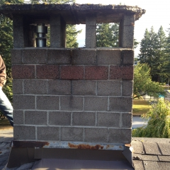 Chimney Rebuild Caps Coquitlam