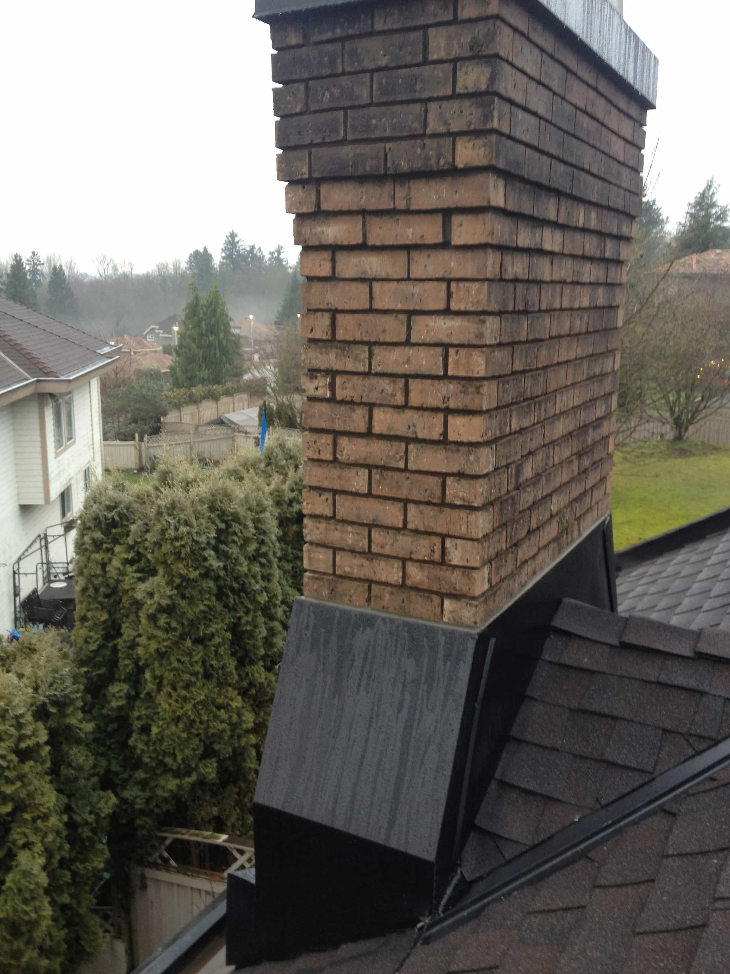 Chimney Flashing Rebuild Surrey