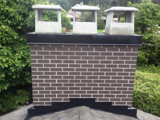 Chimney Rebuild & Flashing Repair Coquitlam