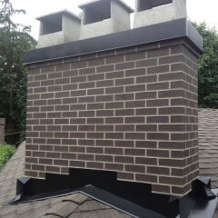 Chimney Rebuild and Flashing Repair Coquitlam