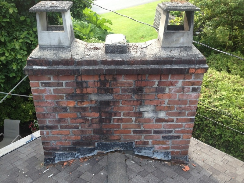 Deteriorating Leaky Chimney Coquitlam BC