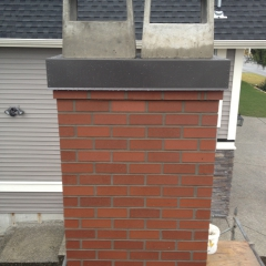 Rebuilt Chimney Masonry Coquitlam