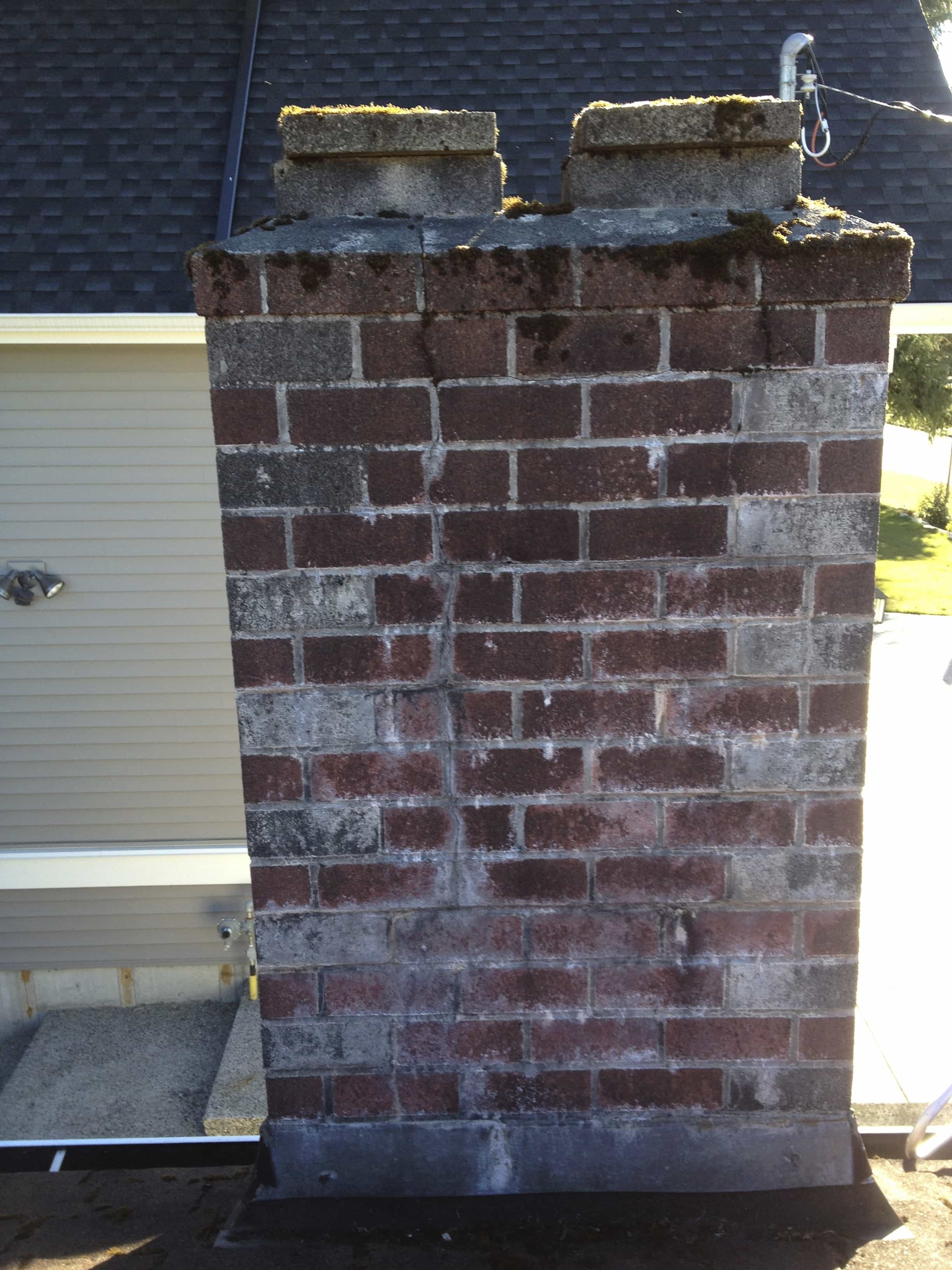 Deteriorated Chimney Coquitlam