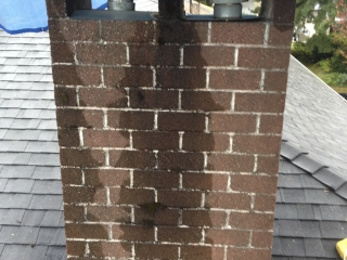Chimney Repair Port Moody BC - Before Repairs