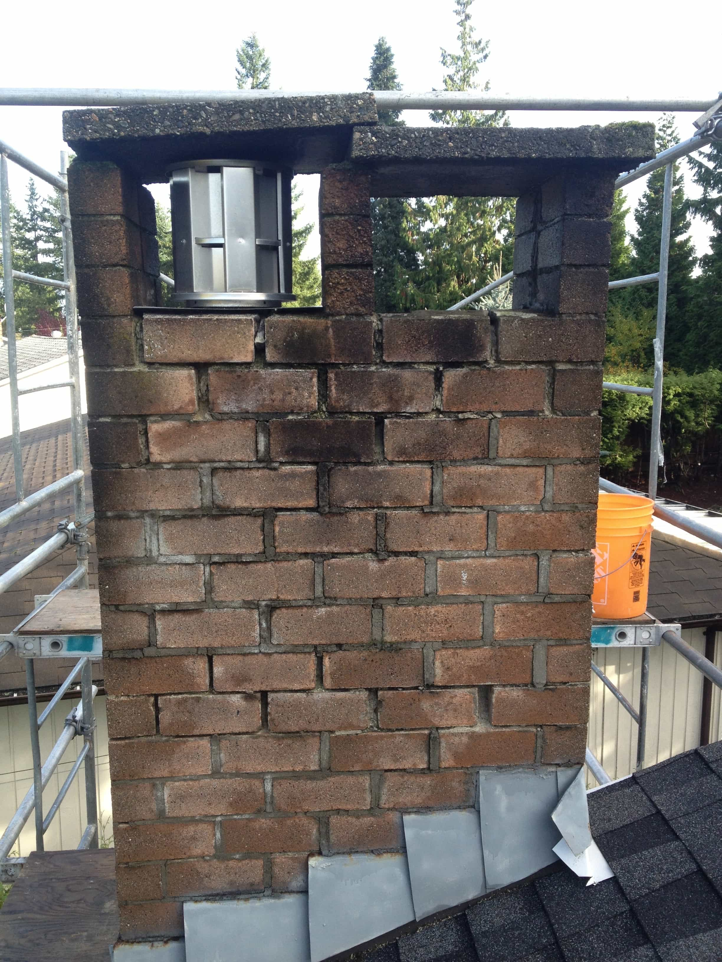 Chimney Flashing Repair Coquitlam
