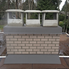 Custom Chimney Rebuild Tsawwassen