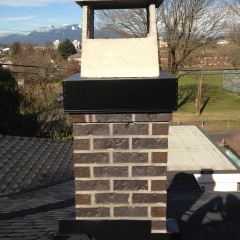 Rebuilt Chimney in Vancouver BC