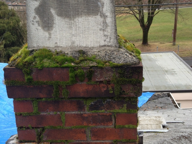 Vancouver Chimney Repairs Before