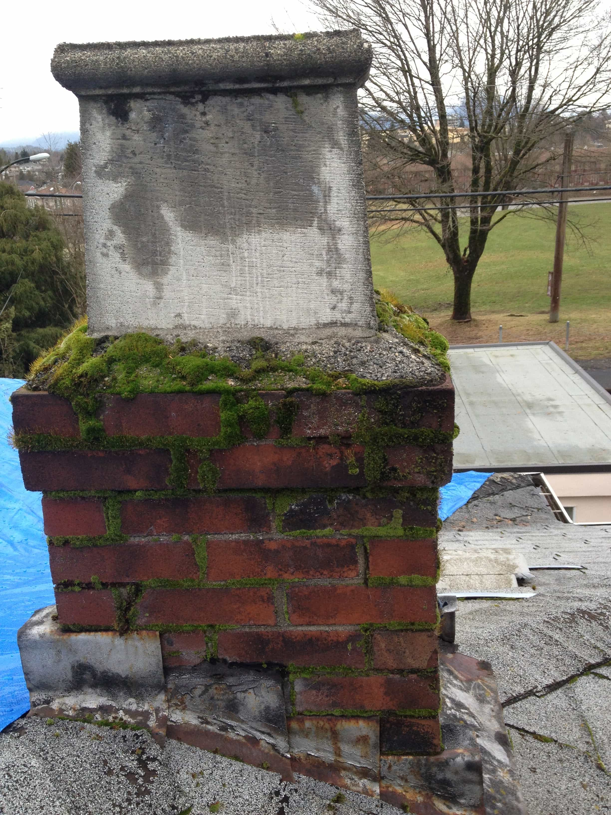 Leaking Damaged Chimney Greater Vancouver