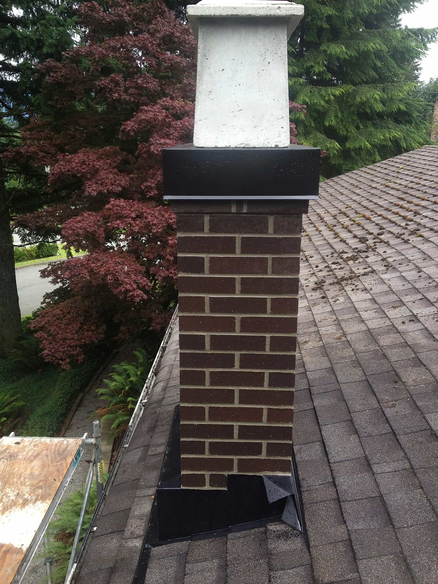 Rebuilt Chimney in Coquitlam BC