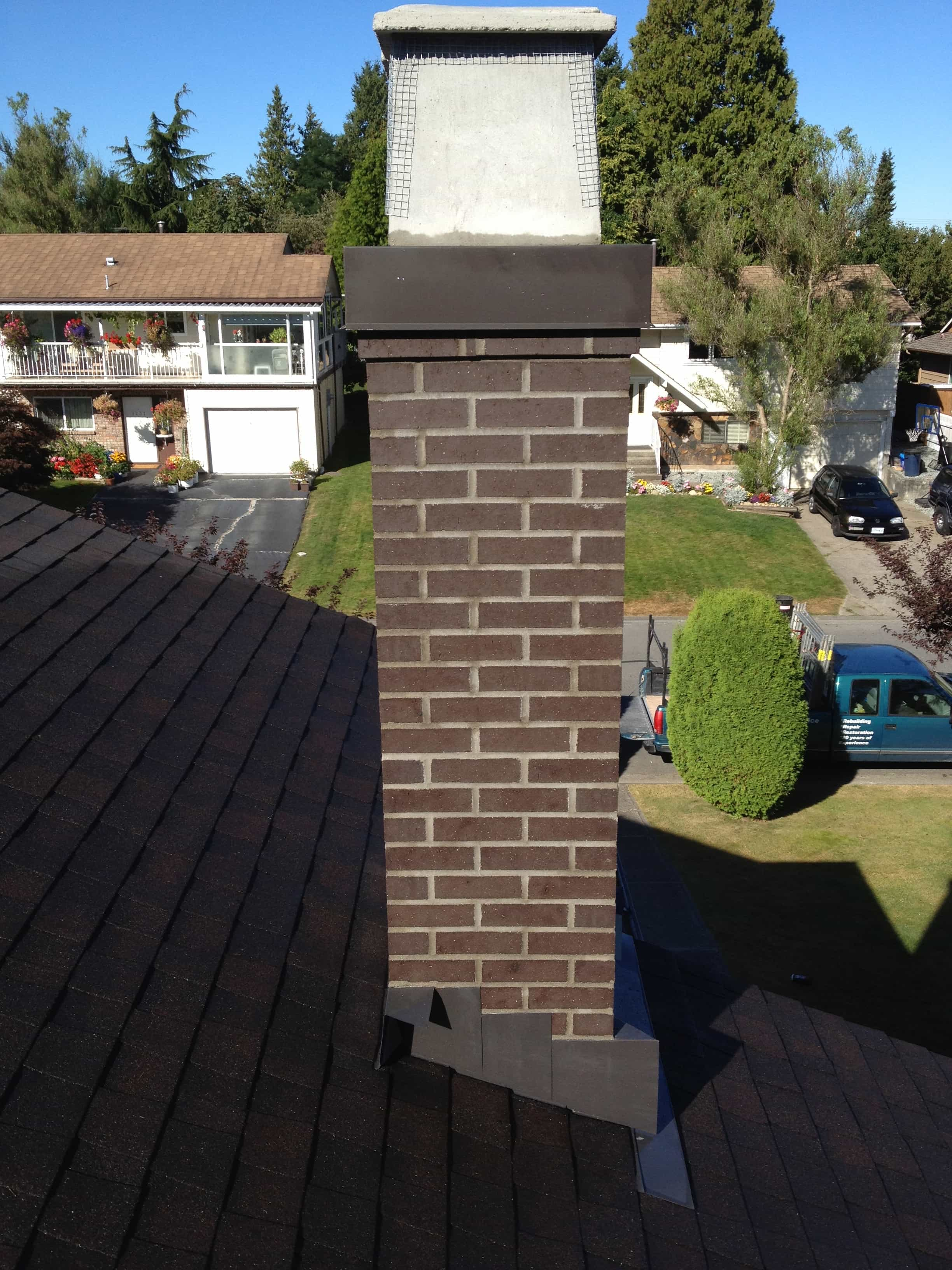 Chimney Rebuild in Surrey BC