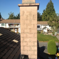 Chimney In Need of Repair in Surrey BC