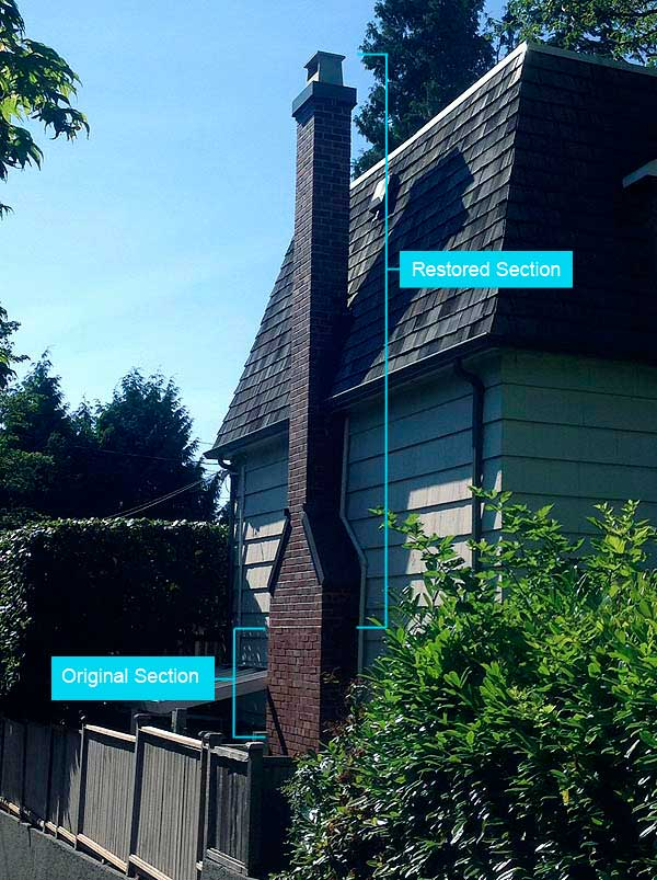 Chimney Restoration (SouthWest Vancouver)